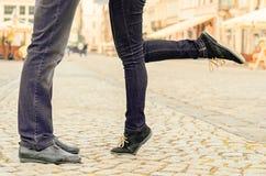 Couples sur la datation Photo libre de droits