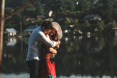 Couples sur pean photos stock