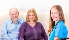 Couples therapy Stock Photo