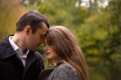 Couples tristes Images stock