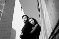 Couples urbains Image libre de droits