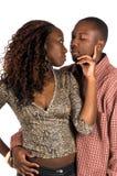 Couples urbains intimes Image libre de droits