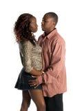 Couples urbains intimes Photos libres de droits
