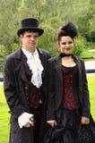 Couples victoriens Photo libre de droits