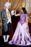 Couples victoriens photographie stock