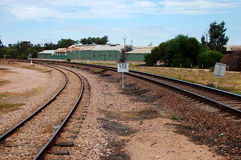 Coupling. Wagon coupling in Alice Springs, Australia Stock Photography