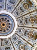 Coupola de la basílica de Esztergom adentro fotos de archivo libres de regalías