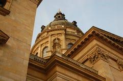 Coupole de basilique de rue Stephen image libre de droits