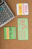 coupon royalty-vrije stock afbeeldingen