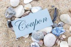 coupon stock fotografie
