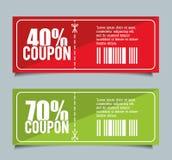 Coupon design. sale icon. shopping concept. Coupon concept with icon design, vector illustration 10 eps graphic Royalty Free Stock Photos