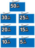Coupon discount Royalty Free Stock Image