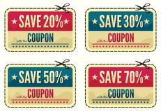 Free Coupon Sale Collection Stock Photo - 30637880