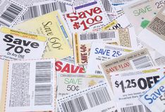 Coupons. Coupon Royalty Free Stock Images