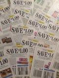 coupons Royalty-vrije Stock Afbeeldingen