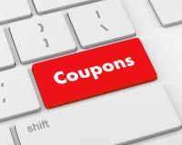 coupons Foto de Stock