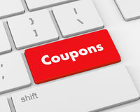 coupons Stock Photo