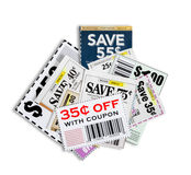 Coupons XXXL Royalty Free Stock Photography