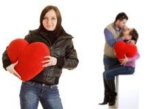 Coupple dans l'amour Photos libres de droits