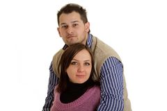 Coupple nell'amore Immagine Stock