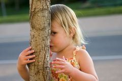 Coups d'oeil de Zoey Photo libre de droits