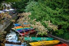 Coups de volée Oxford Angleterre Photographie stock libre de droits