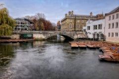 Coups de volée sur la rivière Photos libres de droits