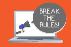 Coupure d'apparence de note d'écriture les règles La présentation de photo d'affaires apportent des modifications faire tout déso illustration stock