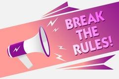 Coupure d'apparence de note d'écriture les règles La présentation de photo d'affaires apportent des modifications faire tout spea illustration de vecteur