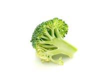 Coupure de broccoli Photo stock