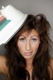 Coupure de cheveu Photo libre de droits