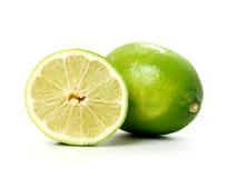 Coupure de citron Images stock