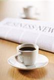 Coupure de Coffe au travail Images libres de droits