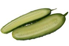 coupure de concombre Photo libre de droits