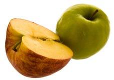 coupure de pomme Photos libres de droits