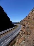 Coupure de route Photographie stock libre de droits