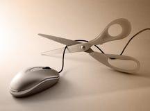 Coupure de souris Image libre de droits