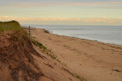 Coupures de tempête de bord de la mer Photographie stock libre de droits