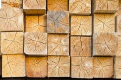 Coupures en bois Images libres de droits