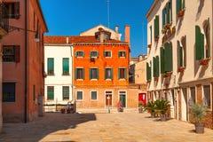 Cour à Venise, Italie Photos libres de droits