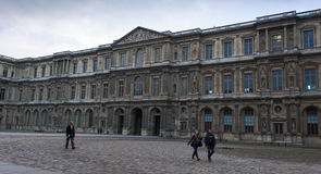 Cour carrée du Louvre Royalty Free Stock Photo