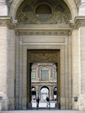 Cour Carree Entrance #1 Royalty Free Stock Images