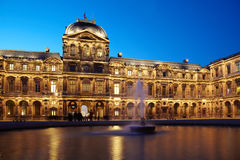 Cour carree of Louvre Stock Photography