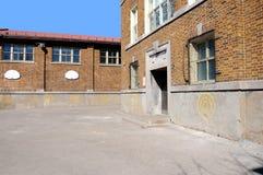 Cour d'école Photographie stock