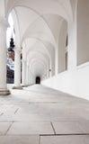 Cour d'écuries de château de Dresde Photos stock