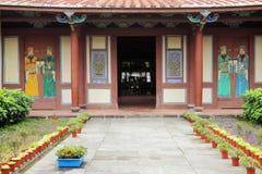 Cour d'architecture de style de la Fujian Photographie stock libre de droits