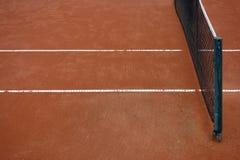 Cour d'argile de tennis image stock