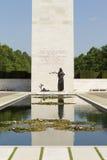 Cour d'honneur au cimetière de guerre de Margraten Photos stock