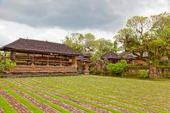 Cour d'un temple bouddhiste Image stock