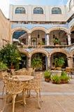 Cour dans Campeche, Mexique Image stock